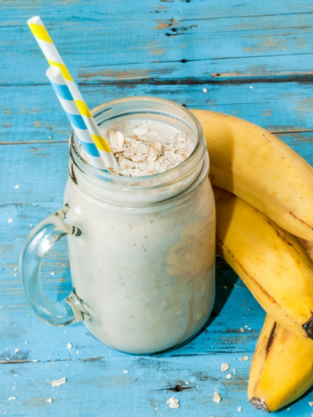 Batido de Plátano y Avena