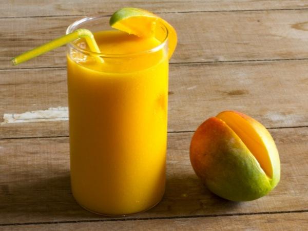 receta de batido de mango o manga