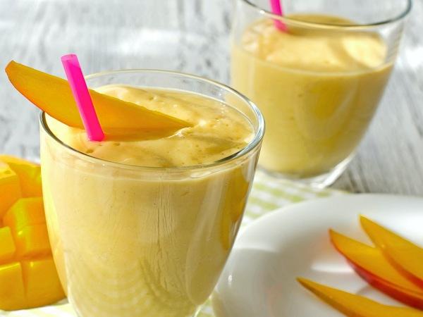 Batido de Mango con Leche