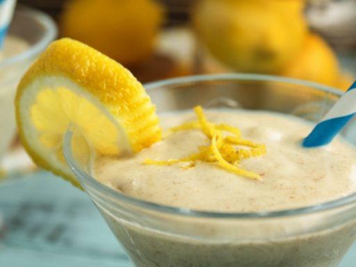Batido de Limón con Yogur y leche
