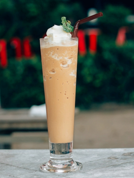 Batido de Café y Helado de vainilla