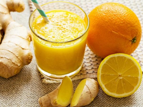 Batido de Limón y Naranja, cargado de vitaminas