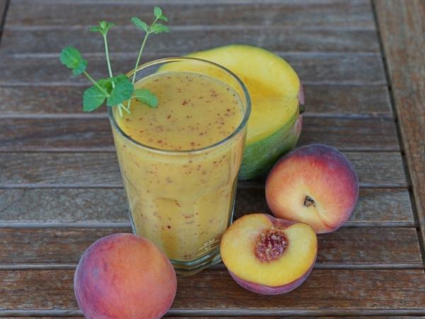Batido de Melocotón y Mango