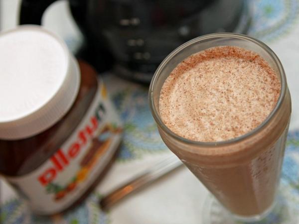 Batido de Nutella y leche clásico