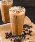 Batido de café con hielo