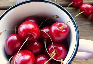 Licuado de cereza contra la anemia