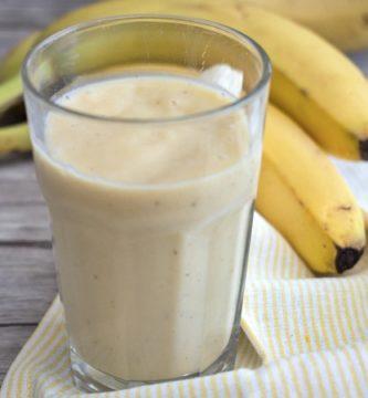 Batido de plátano Thermomix