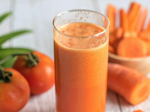 Batido de Tomate y Zanahoria