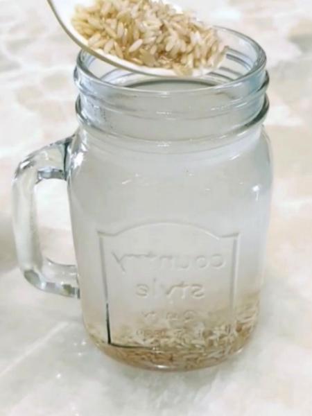 Agua de arroz para bajar de peso y adelgazar