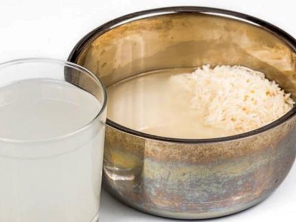 Agua de arroz para la diarrea