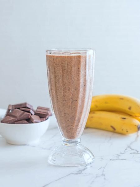 Batido de Plátano y Chocolate natural