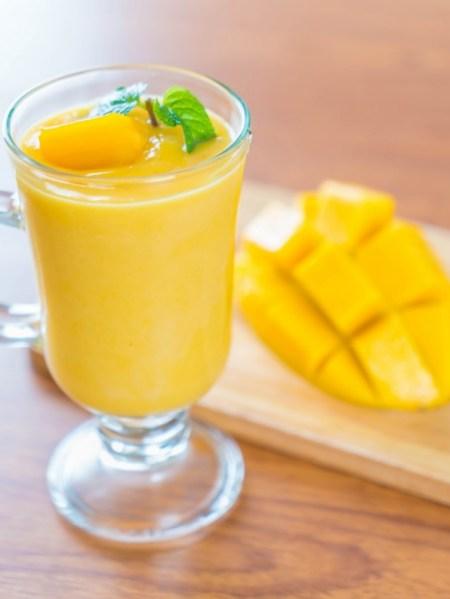 Smoothie de Mango con Leche