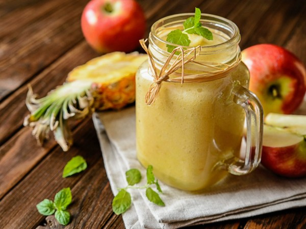 Smoothie de Piña y Manzana