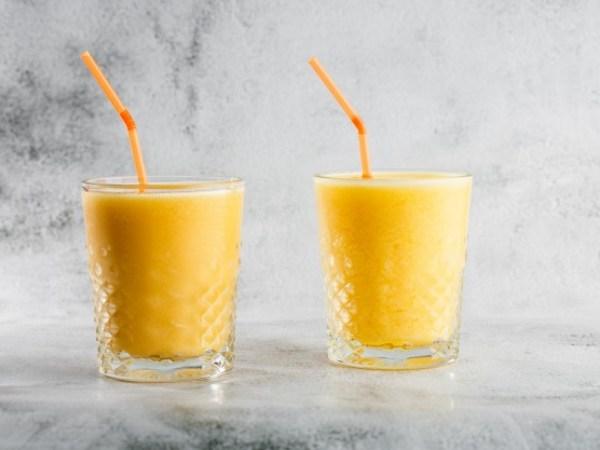 Smoothie de Plátano y naranja
