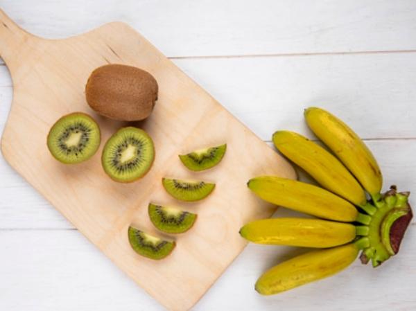ingredientes batido de platano y kiwi