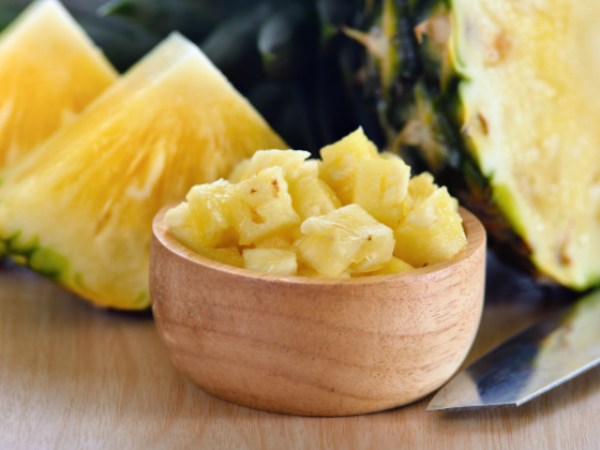 ingredientes smoothie de piña