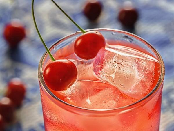 Limonada cerezada o de cereza