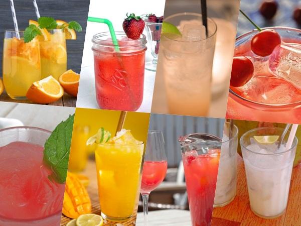Limonadas de Sabores Geniales con Frutas u otros Ingredientes