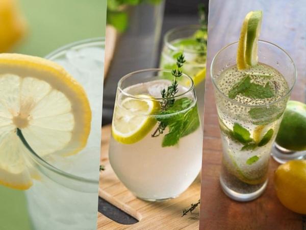 Limonadas recomendadas para deportistas o dieta