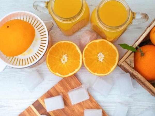 Ingredientes naranjada