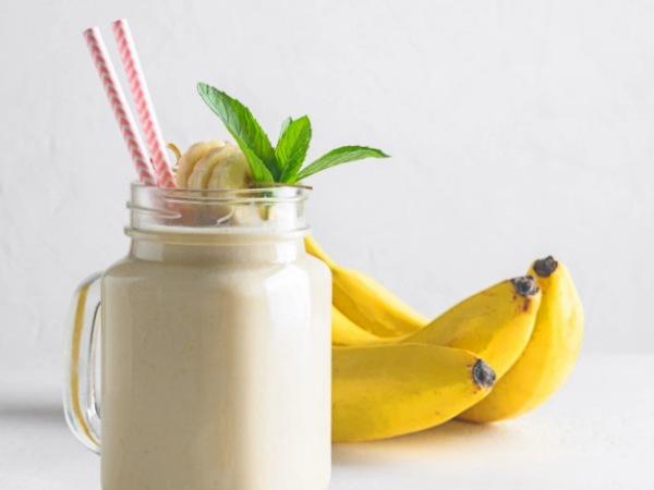 Batido con Leche de Coco y Plátano