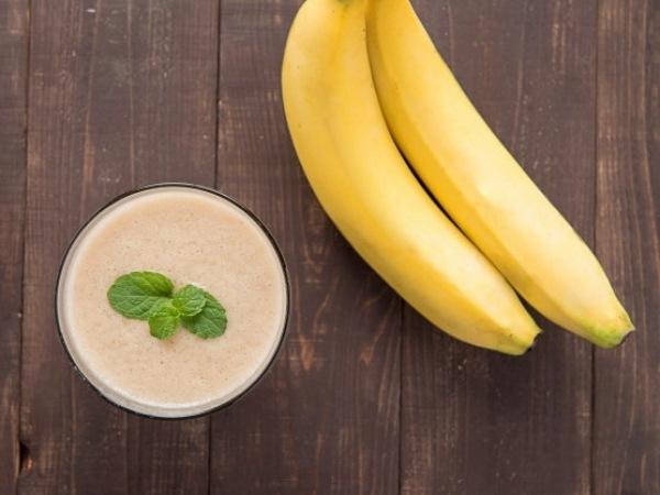 Batido de Plátano para ganar masa muscular de manera natural (con huevo)