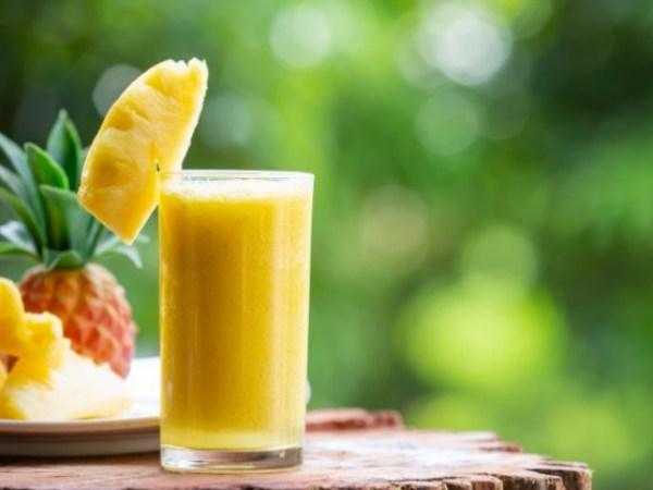 Batido de frutas para depurar el colon