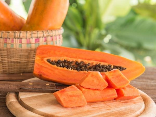 papaya ingredientes