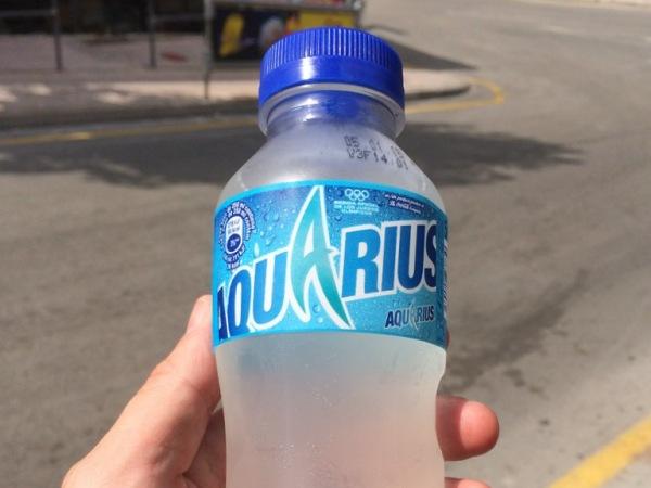 Bote de Aquarius
