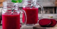 Jugo de Betabel natural sin otros ingredientes Receta y Preparación