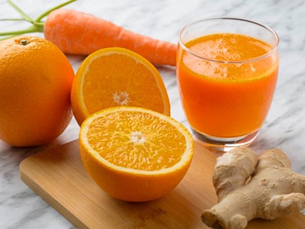 Jugo o Zumo de Zanahoria y Naranja