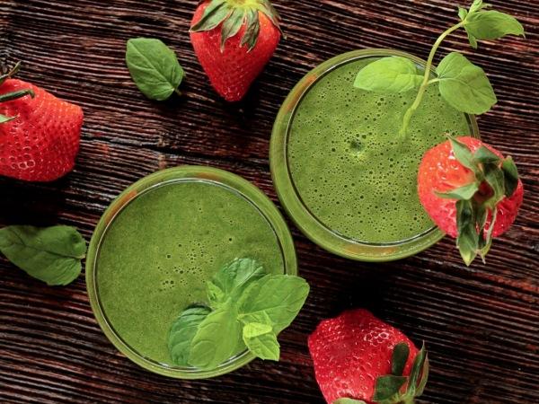 smoothie detox verde receta human papillomavirus mouth sores