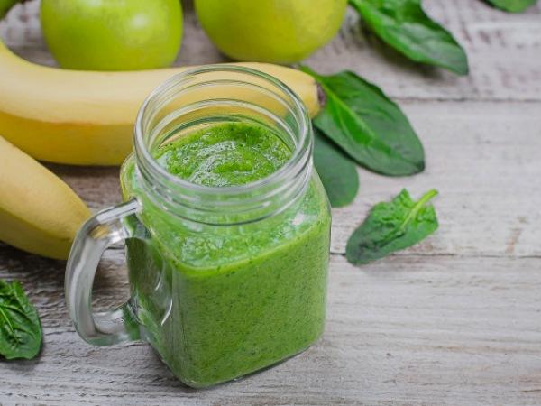 smoothies verdes para desayuno