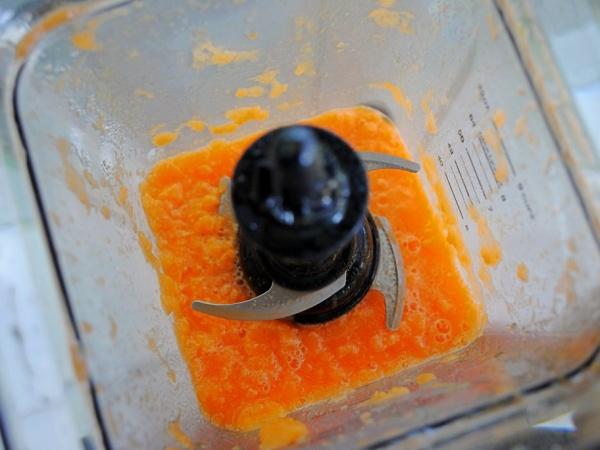 como hacer zumo de zanahoria en batidora o licuadora